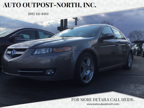 2008 Acura TL for sale at Auto Outpost-North, Inc. in McHenry IL