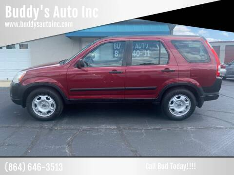 2005 Honda CR-V for sale at Buddy's Auto Inc in Pendleton, SC