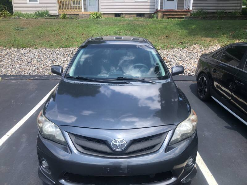 2012 Toyota Corolla for sale at COVENTRY AUTO SALES in Coventry CT
