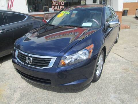 2009 Honda Accord for sale at Downtown Motors in Macon GA