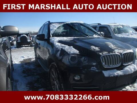 2008 BMW X5 for sale at First Marshall Auto Auction in Harvey IL