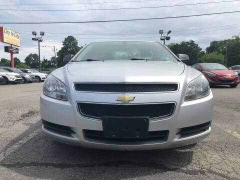 2012 Chevrolet Malibu for sale at City to City Auto Sales in Richmond VA