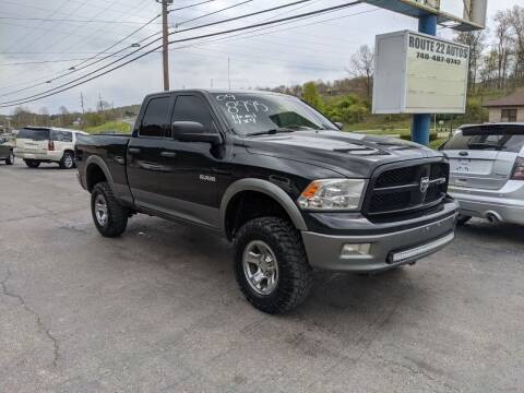 2009 Dodge Ram Pickup 1500 for sale at Route 22 Autos in Zanesville OH