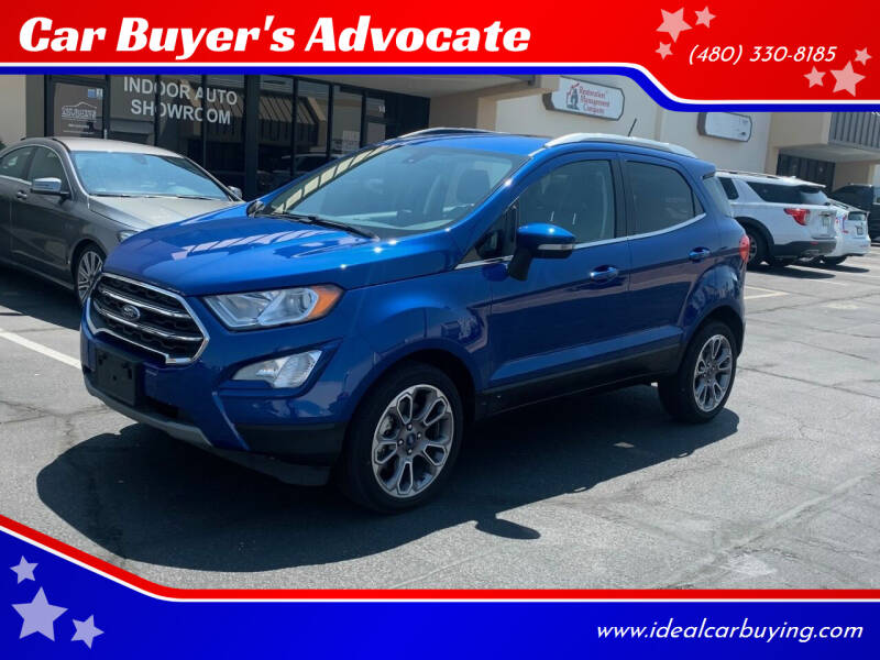 2020 Ford EcoSport for sale at Car Buyer's Advocate in Phoenix AZ