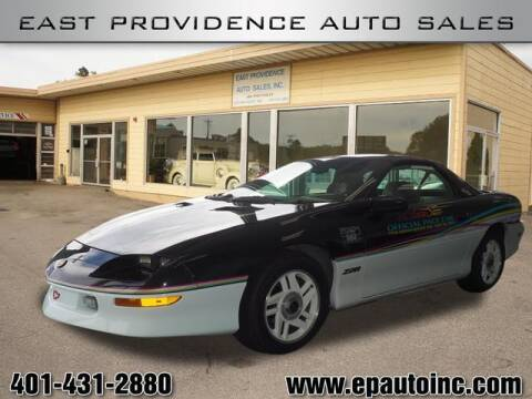1993 Chevrolet Camaro for sale at East Providence Auto Sales in East Providence RI