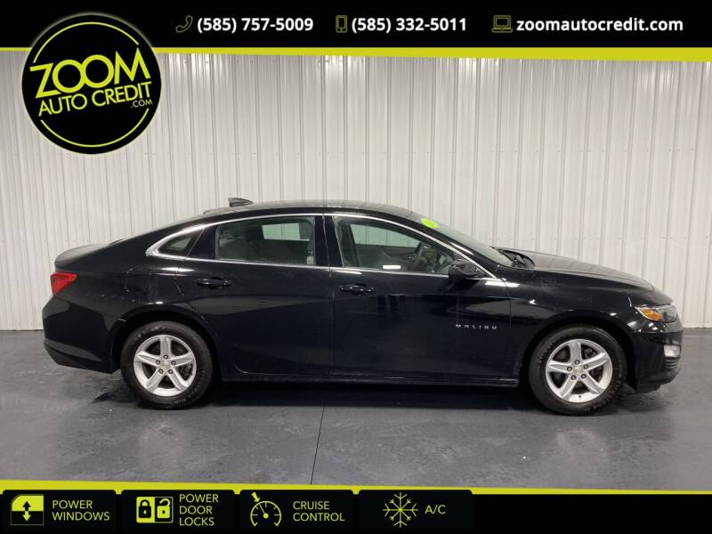 2019 Chevrolet Malibu for sale at ZoomAutoCredit.com in Elba NY