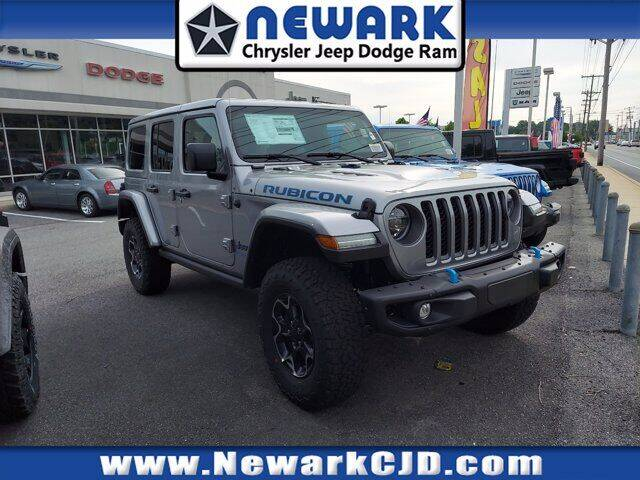 2021 Jeep Wrangler 4xe for sale at NEWARK CHRYSLER JEEP DODGE in Newark DE