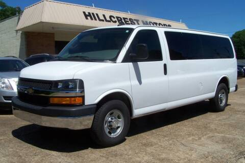 2017 Chevrolet Express Passenger for sale at HILLCREST MOTORS LLC in Byram MS