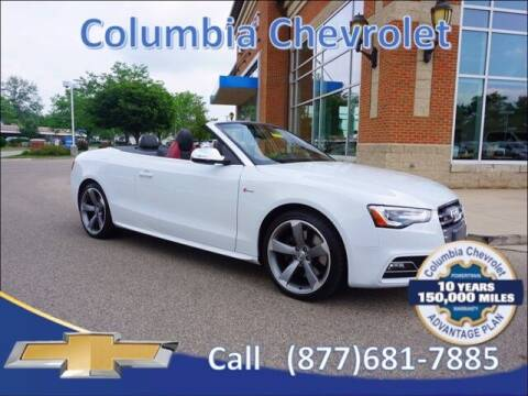 2016 Audi S5 for sale at COLUMBIA CHEVROLET in Cincinnati OH
