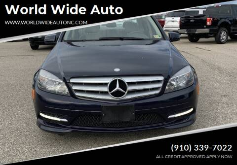 2011 Mercedes-Benz C-Class for sale at World Wide Auto in Fayetteville NC