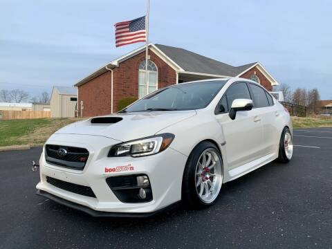 2017 Subaru WRX for sale at HillView Motors in Shepherdsville KY