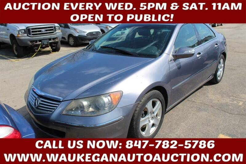 2007 Acura RL for sale at Waukegan Auto Auction in Waukegan IL