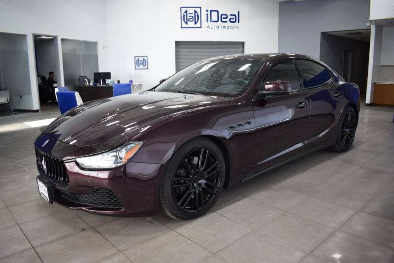 2015 Maserati Ghibli for sale at iDeal Auto Imports in Eden Prairie MN