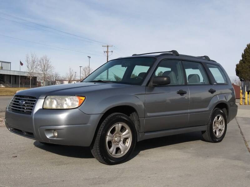 2007 Subaru Forester for sale at AUTOMOTIVE SOLUTIONS in Salt Lake City UT