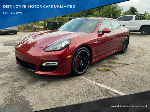 2013 Porsche Panamera for sale at DISTINCTIVE MOTOR CARS UNLIMITED in Johnston RI