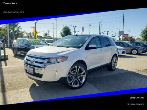 2014 Ford Edge for sale at JJ's Auto Sales in Salinas CA