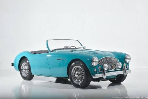 1956 Austin-Healey 100M for sale at Motorcar Classics in Farmingdale NY