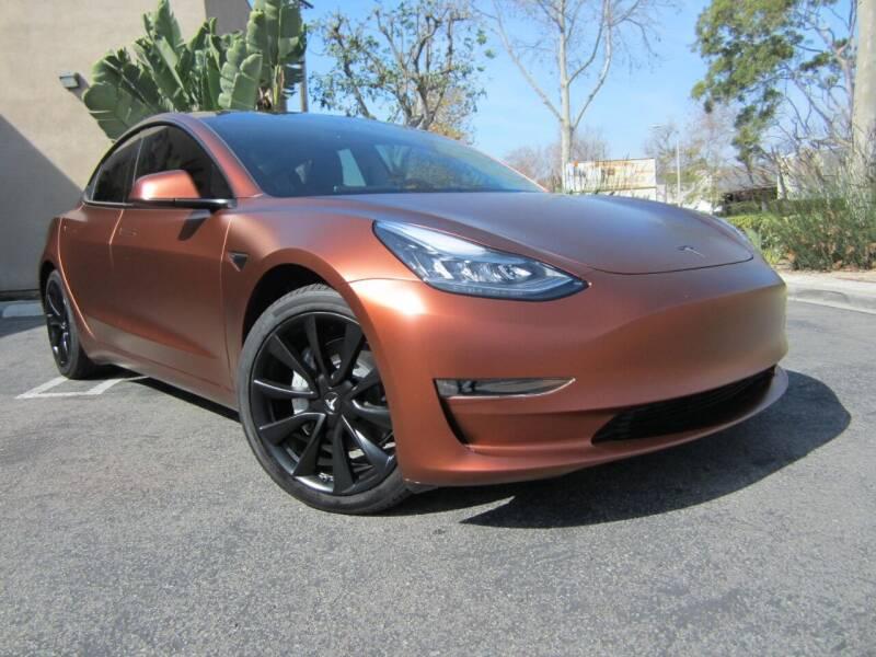 2020 Tesla Model 3 for sale at ORANGE COUNTY AUTO WHOLESALE in Irvine CA