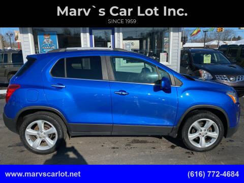 2015 Chevrolet Trax for sale at Marv`s Car Lot Inc. in Zeeland MI