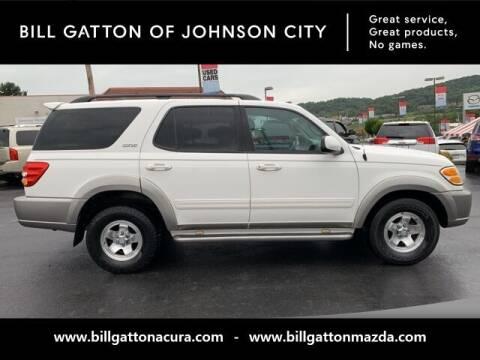 2003 Toyota Sequoia for sale at Bill Gatton Used Cars - BILL GATTON ACURA MAZDA in Johnson City TN