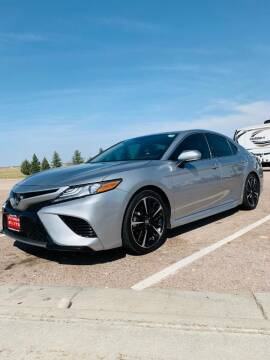 2019 Toyota Camry for sale at KHAN'S AUTO LLC in Worland WY
