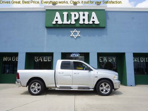 2013 RAM Ram Pickup 1500 for sale at ALPHA AUTOMOBILE SALES, LLC in Lafayette LA