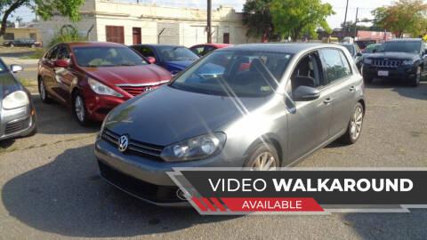 2012 Volkswagen Golf for sale at RVA MOTORS in Richmond VA