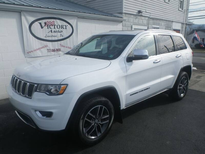 2018 Jeep Grand Cherokee for sale at VICTORY AUTO in Lewistown PA