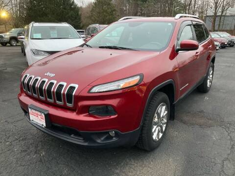 2014 Jeep Cherokee for sale at Louisburg Garage, Inc. in Cuba City WI