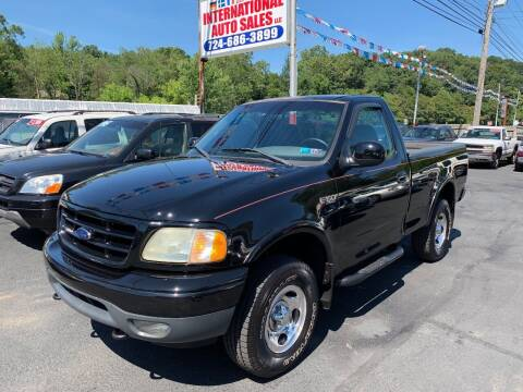 2002 Ford F-150 for sale at INTERNATIONAL AUTO SALES LLC in Latrobe PA