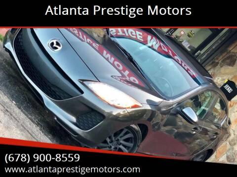 2012 Mazda MAZDA3 for sale at Atlanta Prestige Motors in Decatur GA