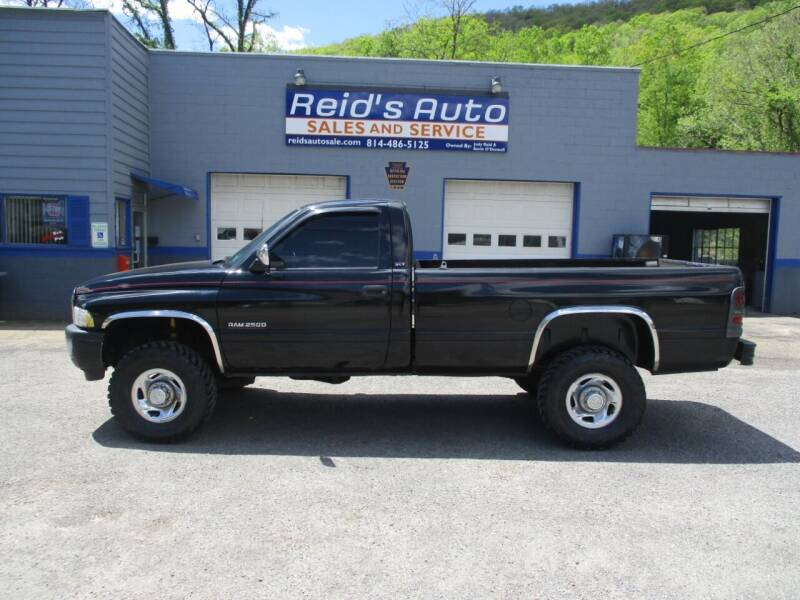 1994 Dodge Ram Pickup 2500 for sale at Reid's Auto Sales & Service in Emporium PA