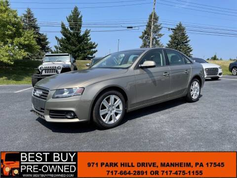 2011 Audi A4 for sale at Best Buy Pre-Owned in Manheim PA