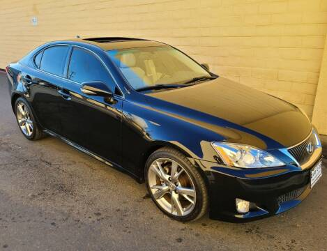 2009 Lexus IS 250 for sale at Cars To Go in Sacramento CA