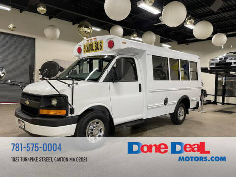 2012 Chevrolet Express Cutaway for sale at DONE DEAL MOTORS in Canton MA
