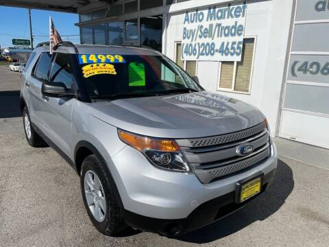 2013 Ford Explorer for sale at Auto Market in Billings MT