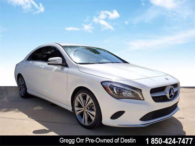 2019 Mercedes-Benz CLA for sale at Gregg Orr Pre-Owned of Destin in Destin FL