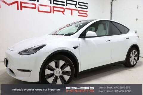2021 Tesla Model Y for sale at Fishers Imports in Fishers IN