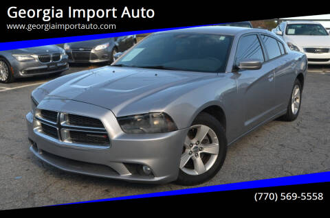 2014 Dodge Charger for sale at Georgia Import Auto in Alpharetta GA