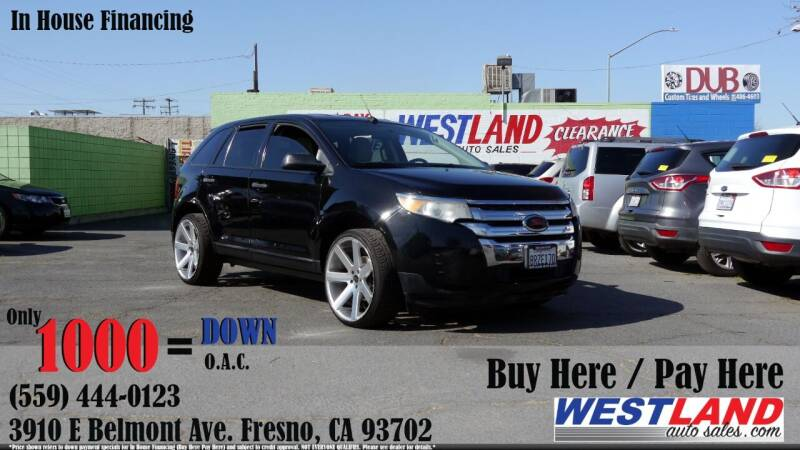 2011 Ford Edge for sale at Westland Auto Sales in Fresno CA