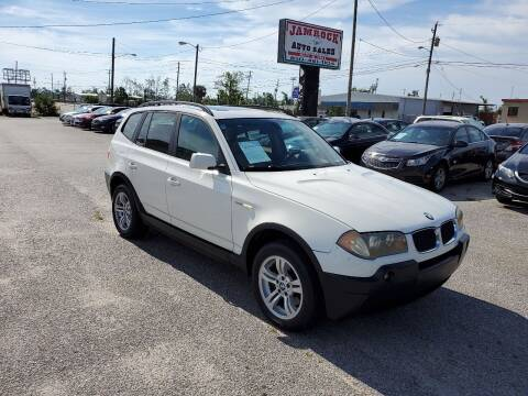 2005 BMW X3 for sale at Jamrock Auto Sales of Panama City in Panama City FL