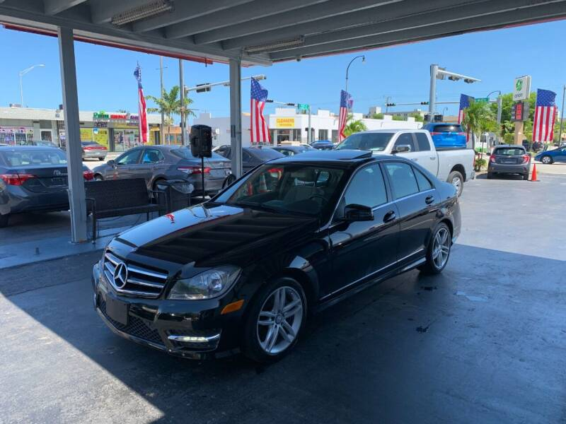 2014 Mercedes-Benz C-Class for sale at American Auto Sales in Hialeah FL