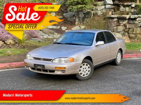 1996 Toyota Camry for sale at Mudarri Motorsports in Kirkland WA