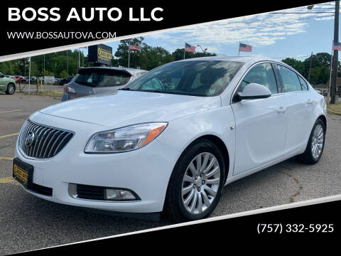 2011 Buick Regal for sale at BOSS AUTO LLC in Norfolk VA