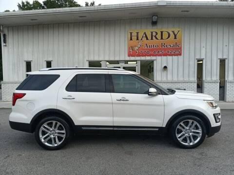 2016 Ford Explorer for sale at Hardy Auto Resales in Dallas GA