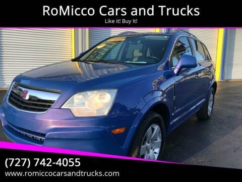 2008 Saturn Vue for sale at RoMicco Cars and Trucks in Tampa FL