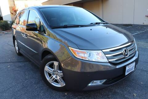 2013 Honda Odyssey for sale at California Auto Sales in Auburn CA