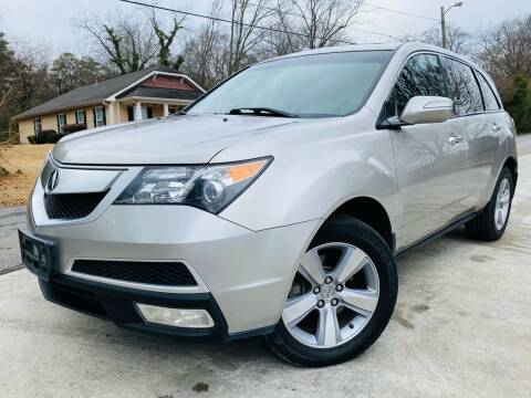 2011 Acura MDX for sale at Cobb Luxury Cars in Marietta GA