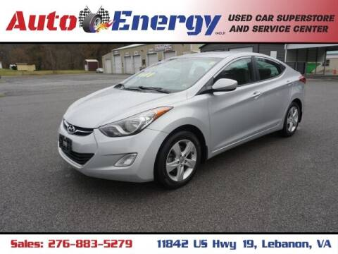 2013 Hyundai Elantra for sale at Auto Energy in Lebanon VA
