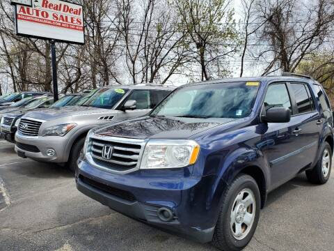 2014 Honda Pilot for sale at Real Deal Auto Sales in Manchester NH